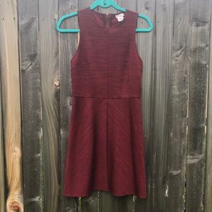 UO spacedyed fit and flare dress EUC